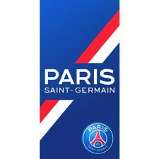 Paris Saint Germain Badetuch Handtuch Strandtuch Duschtuch 70x140 cm PSG Towel