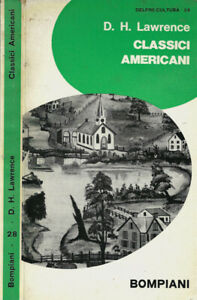 Classici americani. . D. H. Lawrence. 1966. .