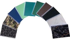 Various Colour Ten-Pack A5 Premium Notepads 70 Sheets 80gsm
