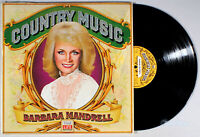 Barbara Mandrell - Country Music (1981) Vinyl LP • Time Life, Greatest Hits
