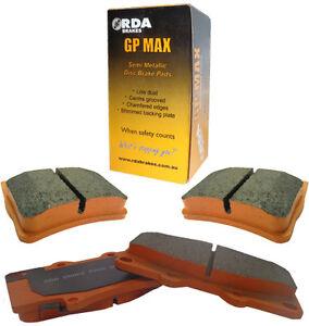 SSANGYONG KORANDO C200 2.0L Front & Rear RDA GP Max Brake Pads FULL VEHICLE SET