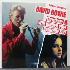 DAVID BOWIE	'Christiane F Wir Kinder Vom Bahnof Zoo' Ltd RED Vinyl LP NEW/SEALED