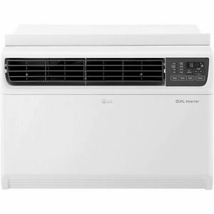 LG 18,000 BTU 230V Dual Inverter Window Air Conditioner with Wi-Fi Control