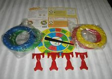 TWISTER HOOPLA REPLACEMENT PARTS - RINGS - SPINNER - INSTRUCTIONS - MORE