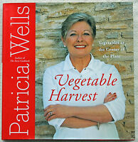 Vegetable Harvest Patricia Wells 2007 Hardcover 1st Edition Very Good Condition