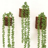 72CM 1PCS Artificial Succulents Hanging Plant Fake String of Pearls Home Decor