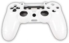Neu Playstation PS4 Controller Case Hülle Gehäuse Chrome Modding Cover Weiß