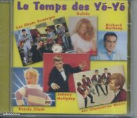 CD Le Temps des YéYé 18 titres NEUF sous cellophane