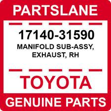 17140-31590 Toyota OEM Genuine MANIFOLD SUB-ASSY, EXHAUST, RH