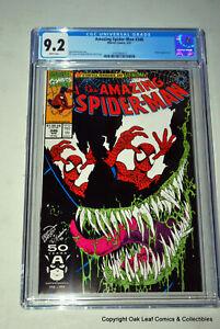 Amazing Spider-Man 346 CGC 9.2 Venom cover app. 1991 Marvel Comics