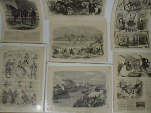 Lot 65 Covers and Plates Harpers Weekly 1860 to 1887 Illustrated