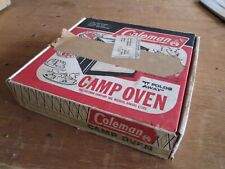 Vintage Coleman Folding Camp Cooking Oven 5010A700 w/box & Instr.Booklet