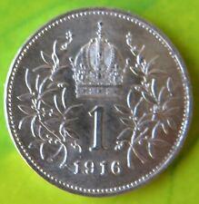 Österreich 1 Krone 1916, Kaiserreich Franz Josef I., Silbermünze