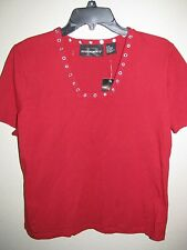 WOMEN'S BLOUSE  BY REQUIREMENTS -  SIZE- MEDIUM- NEW  ***VERY COOL***