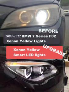 13-15 BMW 7 Series F02 F01 F04 Left&Right Upgrade Headlight LED Headlamp