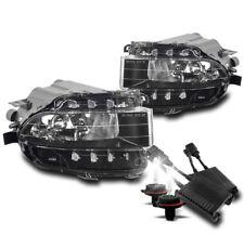 BUMPER CHROME FOG LIGHT LAMP W/50W 6K HID FOR 06+ GS300 GS350 GS430 GS450H GS460