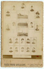 RARE PHOTOGRAPHER OCCUPATIONAL SALES CARD: Photographic Display Cabinet Card