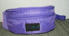 VINTAGE 1980'S B.I. Gear Purple Fanny Pack Bag Adjustable Great Condition!