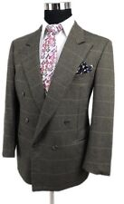 Ermenegildo Zegna Double Breasted 100% Cashmere Sport Coat Made In Italy 40R