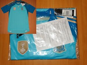 NEW UNOPENED > SPAIN 2013 2014 shirt jersey camisa ADIDAS SOCCER GOALKEEPER M