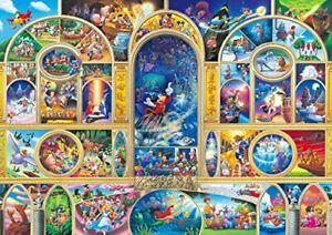 108 Piece Jigsaw Puzzle Disney All Character Dream (18.2 x 25.7 cm)