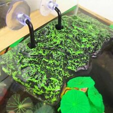 Aquarium Tank Floating Sucking Disc Decorations Turtle Dock Basking Platform New