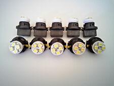 Buick 10 White 4 LED Dashboard Instrument Panel Indicator Light Bulb Sockets