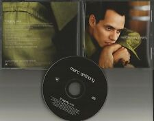MARC ANTHONY Tragedy 2001 ULTRA RARE PROMO Radio DJ CD single USA