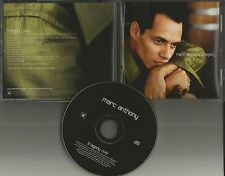 MARC ANTHONY Tragedy 2001 ULTRA RARE PROMO Radio DJ CD single USA