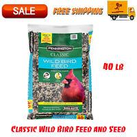 Pennington Classic Wild Bird Feed & Seed, 40 lb, Attracts A Variety Of Wild Bird