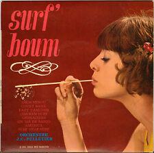 """JEAN CLAUDE PELLETIER """"SURF BOUM"""" POPCORN SURF 60'S EP"""