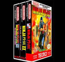 Ninja Gaiden 3 Pack 1 2 3 - NES Reproduction Art Case/Box No Game. Nintendo