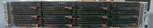 Supermicro 6026TT-HTRF 4 Nodes 2U Server - 8x L5630 96GB 12x2TB 2x 1400W Rails