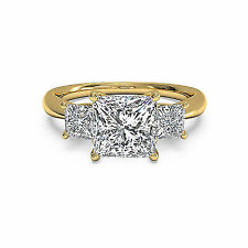 0.14 CT Natural Certified Diamond G \u2013 H Color 10K Yellow Gold Ring