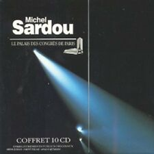 Coffret rare 10 CD Palais des Congrès (inclus 3 concerts inédits) MICHEL SARDOU