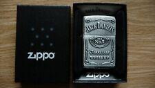 Genuine JACK DANIELS Zippo Lighter.New,Boxed.Bourbon Whiskey,Rock n Roll,Lemmy