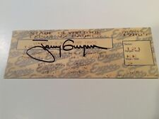 JSA signed Autographed Tony Gwynn 3000 Hit Ticket San Diego Padres