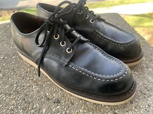 Red Wing 8106 boots SHOES black 10.5 D ( 11 11.5 12 )