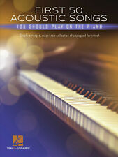 First 50 Acoustic Songs You Should Play on Piano