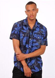 Mens Short Sleeve Beach Shirts Formal Casual Smart Classic Holiday summer wear