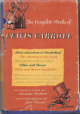 The Complete Works of Lewis Carroll by Lewis Carroll (Hardcover) - FREE SHIPPING
