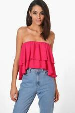Boohoo Bandeau Cropped Tops & Shirts for Women