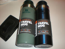 NEW 2-Classic Trigger-Action Travel Mug 16 OZ 18/8 stainless steel, BPA-free