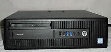 HP EliteDesk 800 G2 SFF, Core i5-6500, 8.0 GB RAM DDR4, SSD 256 GB + HDD 500 GB