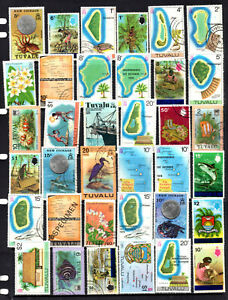 Tuvalu - 69 different stamps, nice collection (77M)