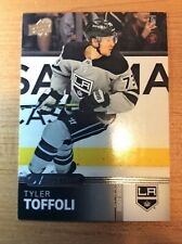 New listing UD OVERTIME WAVE 2019-2020 TYLER TOFFOLI HOCKEY CARD #27 LOS ANGELES KINGS