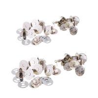 20Pcs Magnétique Snap Purse Fermoir Fermeture Bouton Accessoires de Sac de