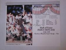 Orlando Cepeda San Francisco Giants HOF Induction Card 1999 8x10