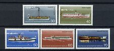 Berlin 1975 SG#B467-71 Pleasure Crafts Ships Boats MNH Set #A4068