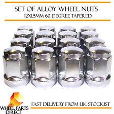 Alloy Wheel Nuts (16) 12x1.5 Bolts Tapered for Kia Cerato/Forte [Mk1] 03-08